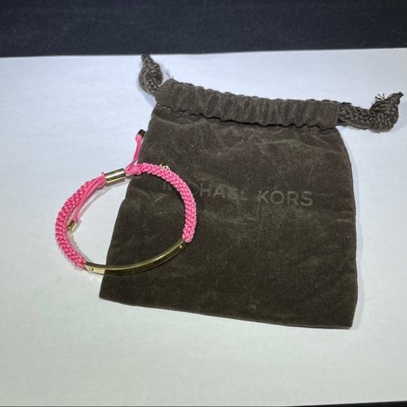 Michael Kors Adjustable Pink Bracelet